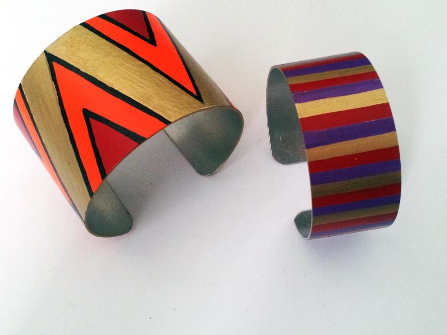 DIY tribal cuff