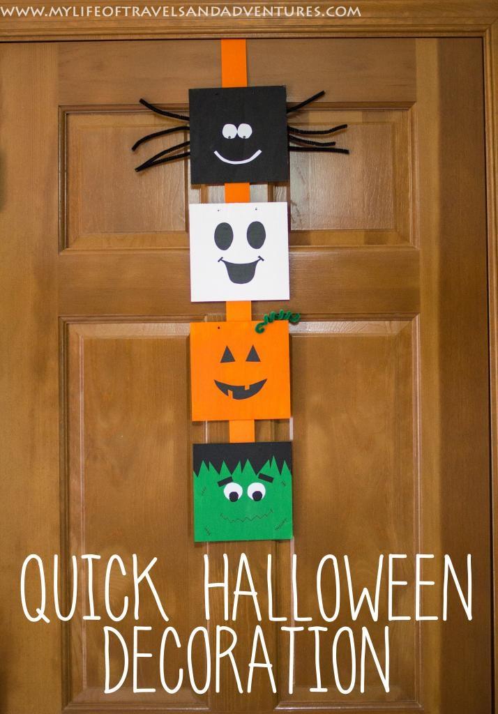A Quick Halloween Decoration
