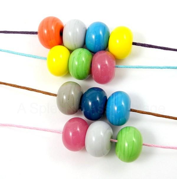 DIY : colorful summer necklace