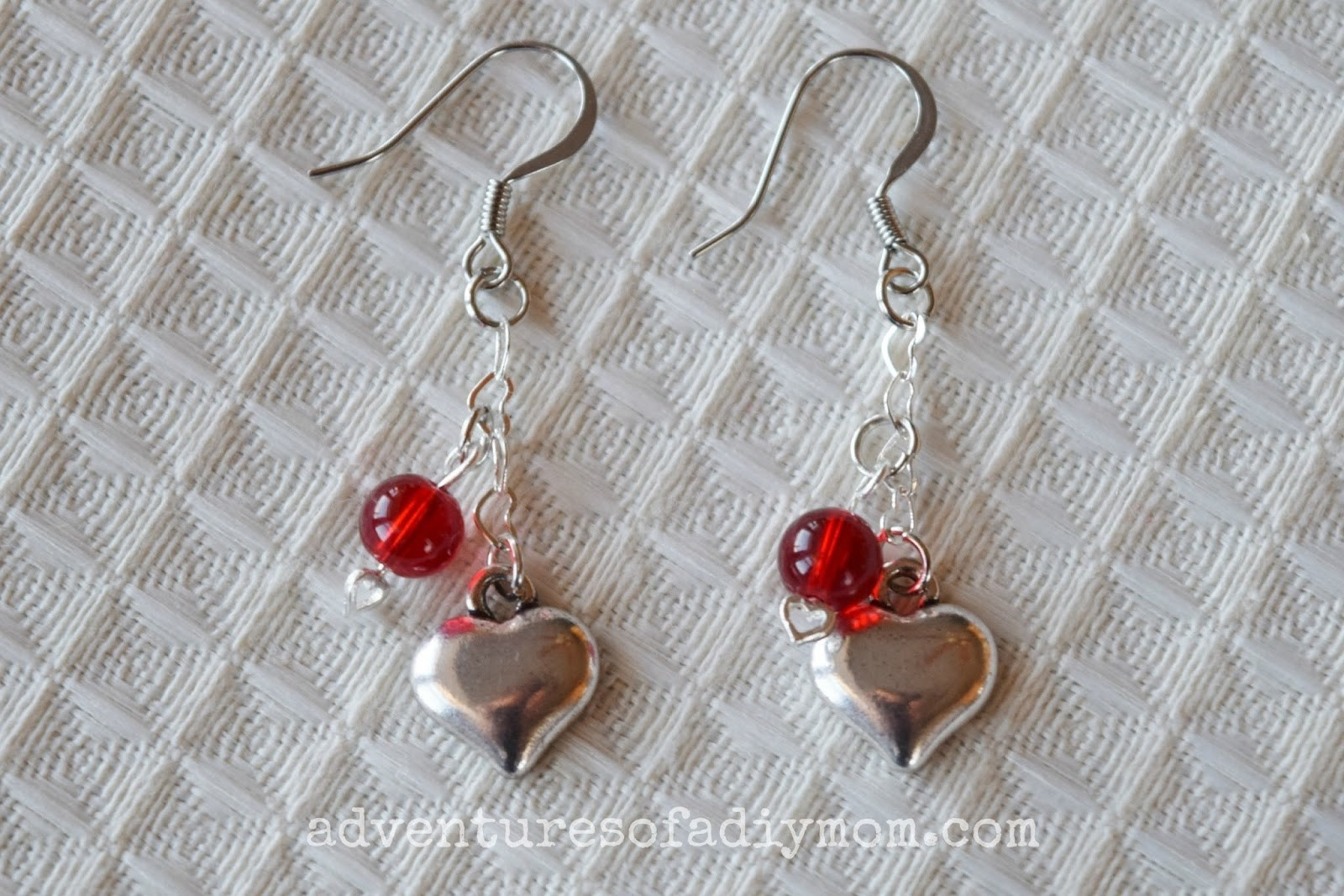 Valentines Bracelet and Earring Set Tutorial
