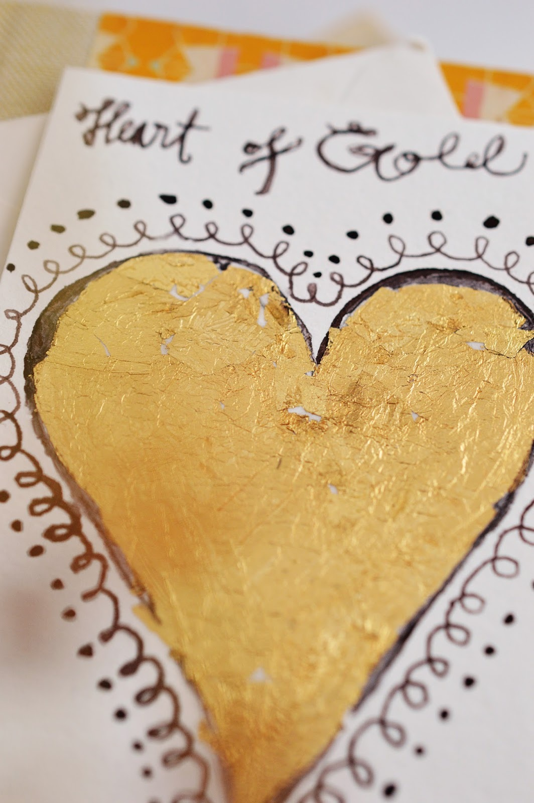 Welcoming the New Year DIY GOLD LEAF PAINTING