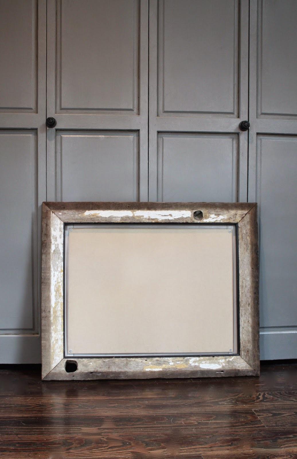 ~diy no smudge chalkboard~