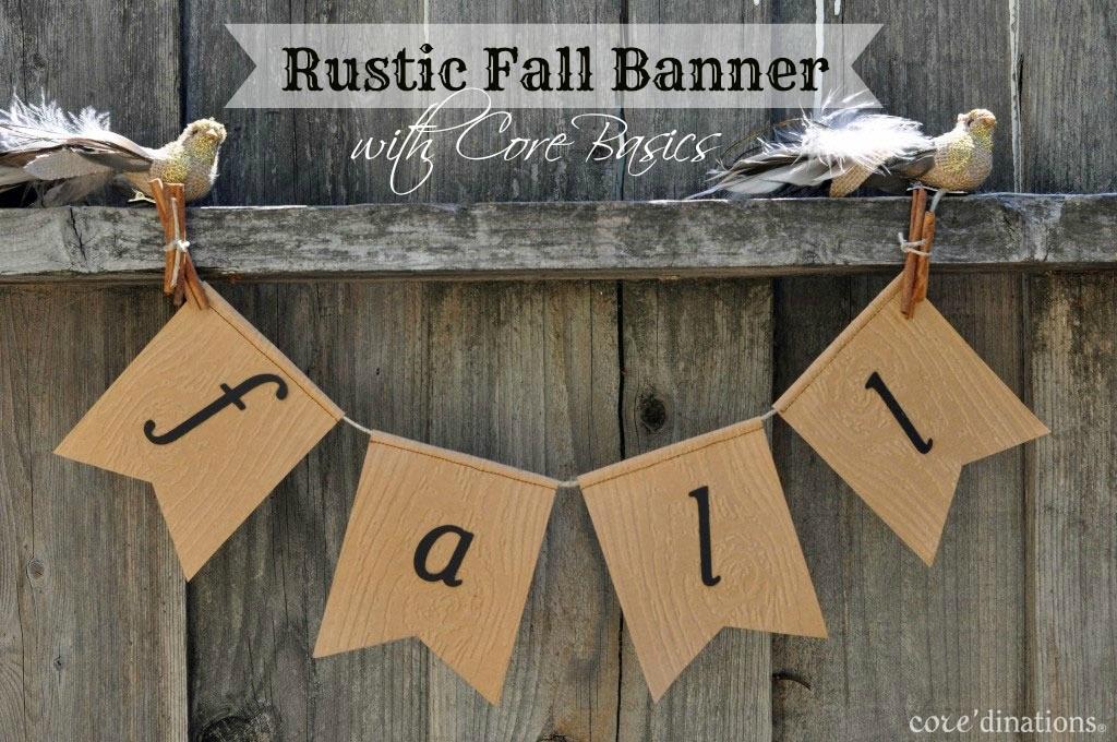 Rustic Fall Banner Coredinations