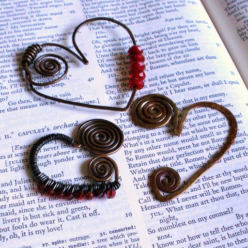 Versatile Valentine Abstract Spiral Heart Pendant Tutorial