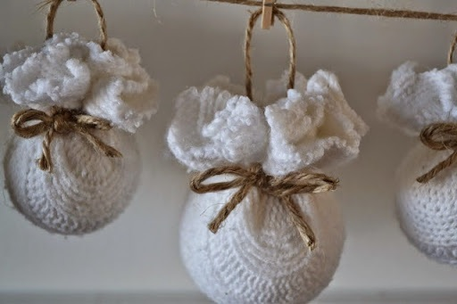 #1 Sweater Ball Ornaments