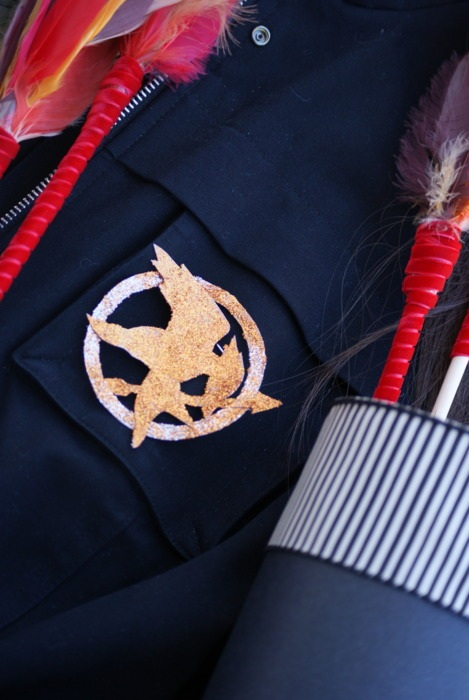 Katniss Everdeen costume DIY Mockingjay pin