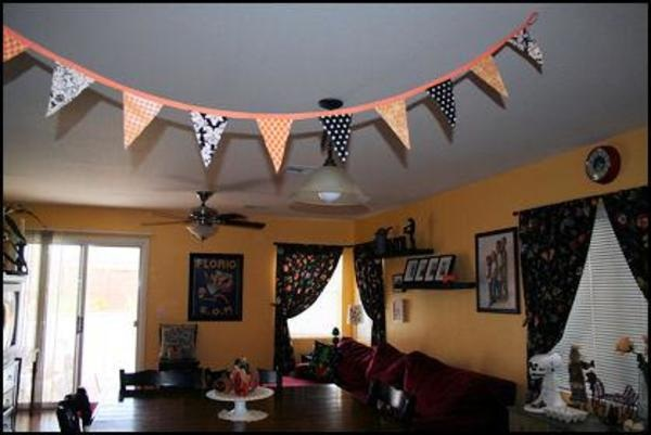 Festive bunting craft how to