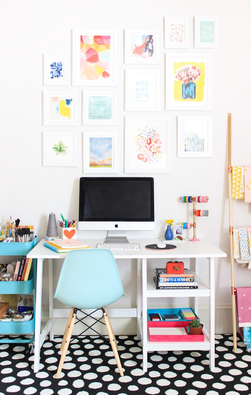 Office Makeover + DIY Storage Boxes