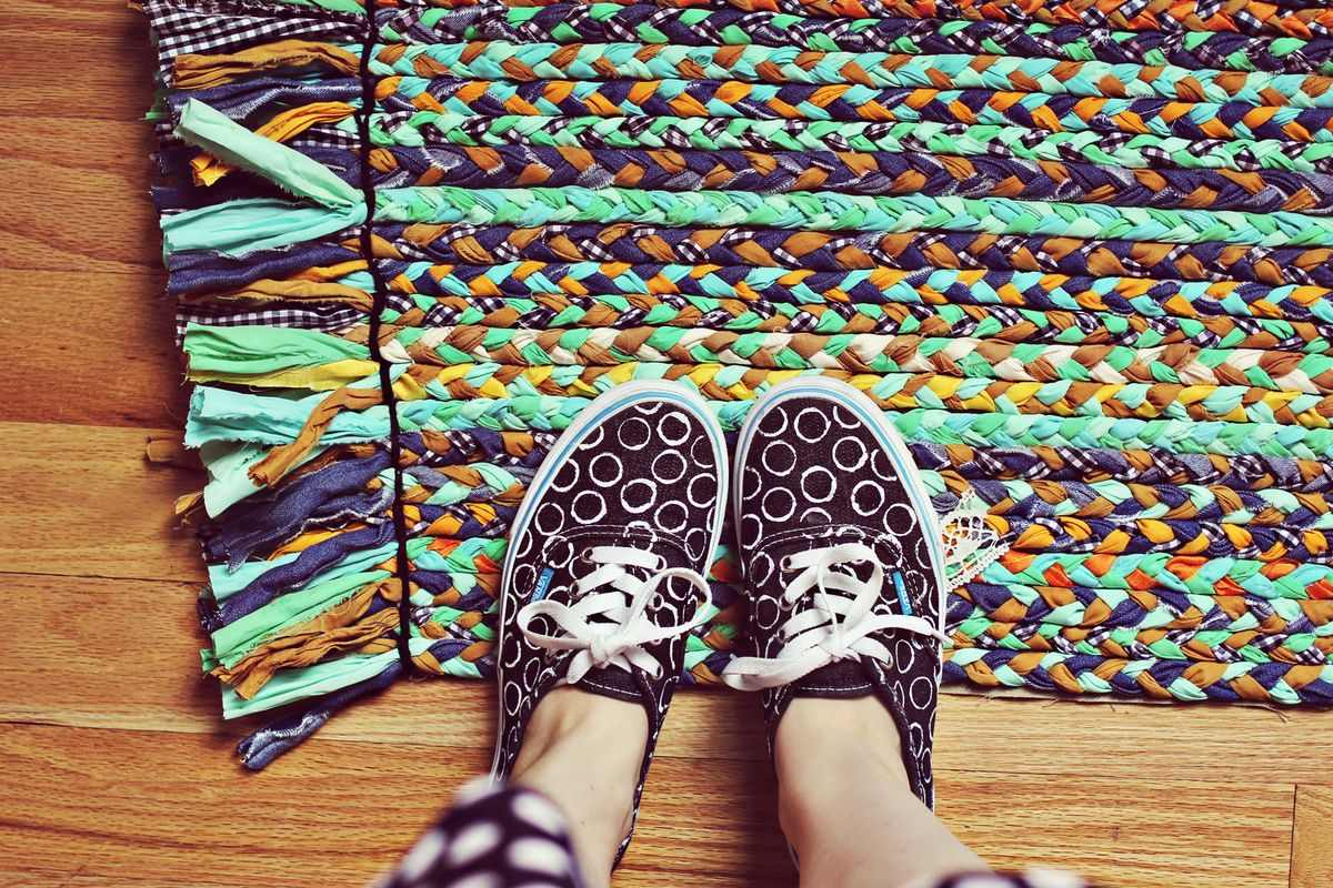 Make Your Own Braided Rug
