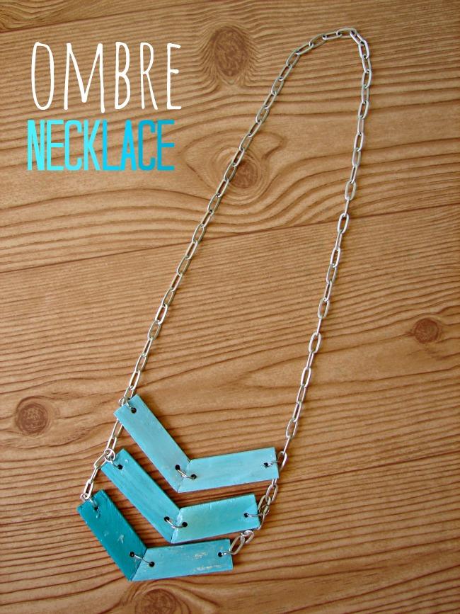 Ombre necklaceÿ.