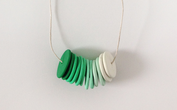 Make your own colourful polymer clay necklaces
