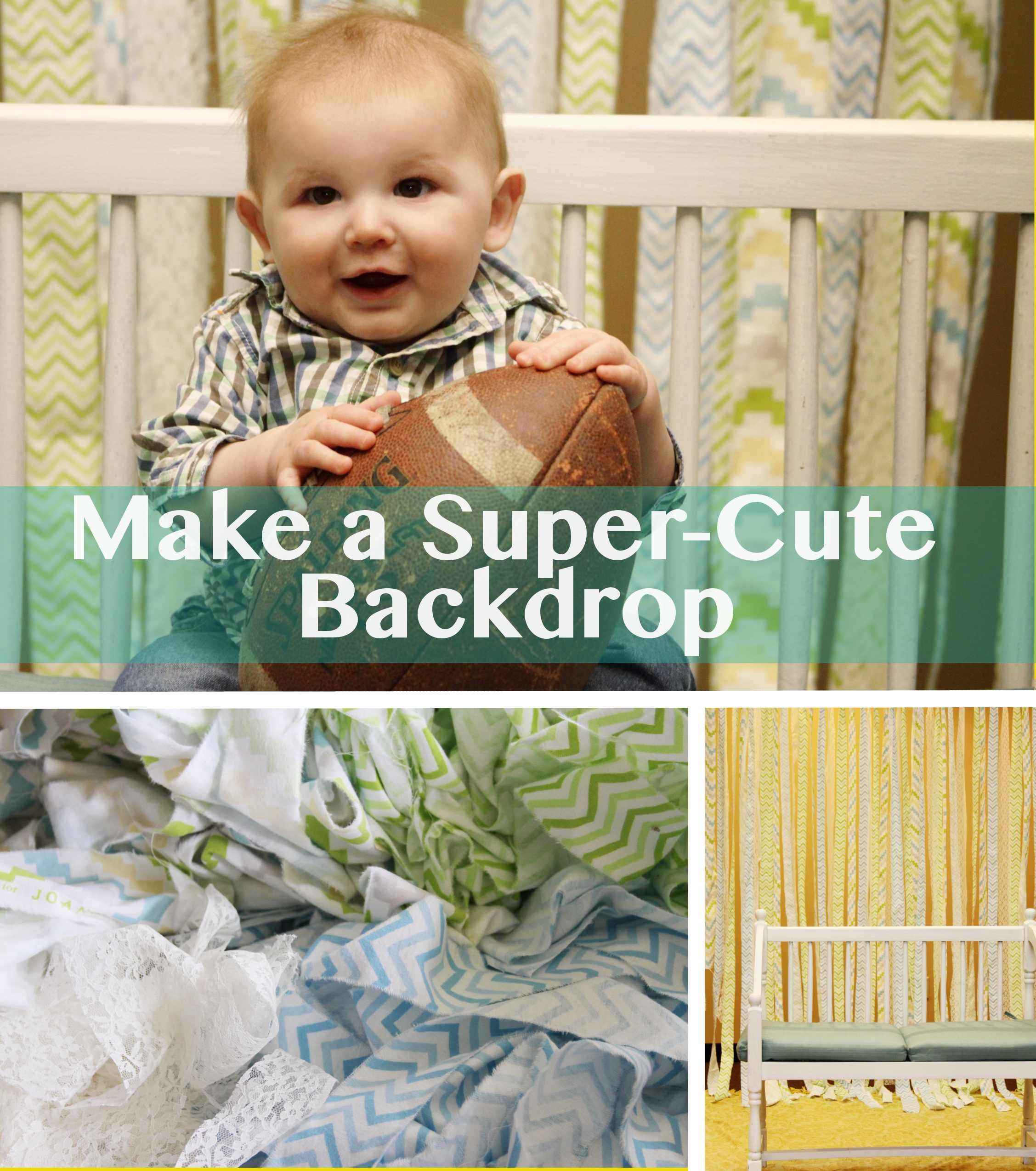 Make a Quick and Easy Photo Backdrop