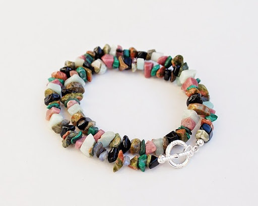 DIY Bead Crimping Necklace Bracelet