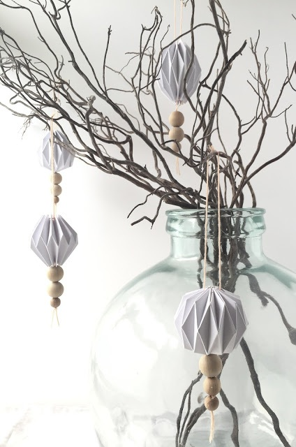 My DIY origami and bead decoration kits...