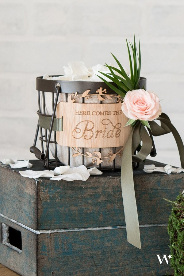 DIY Wedding Wednesday How To Update Tradition The New Flower Girl Basket