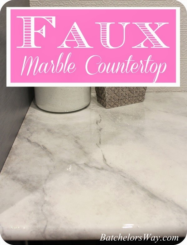 Laundry Room DIY Countertops Part 2 Faux Painting