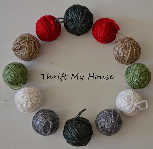 #10 Yarn Ornaments