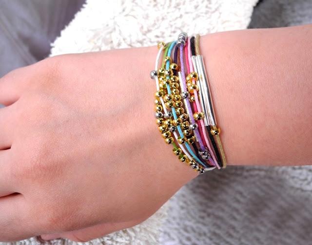 DIY simple summer bracelet