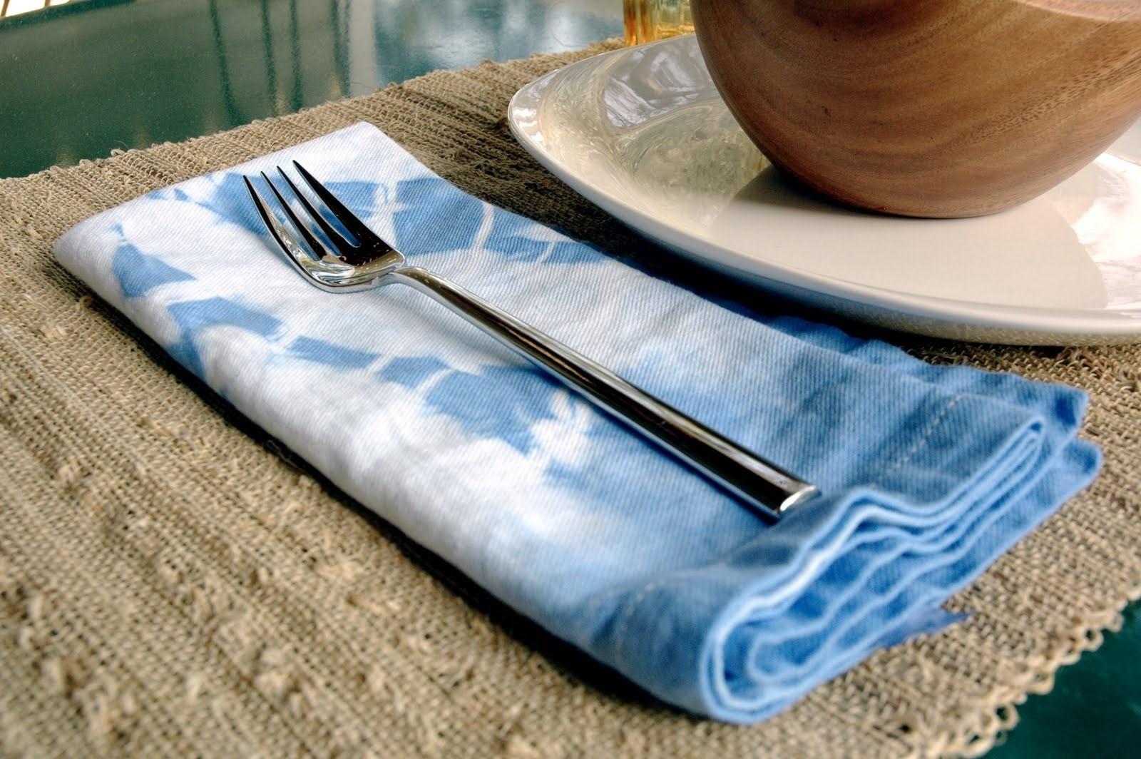 DIY Tie Dye Napkins
