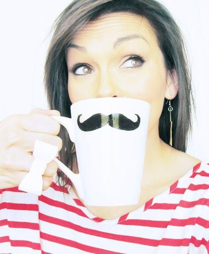 DIY Craft & Gift Idea Mustache Mug