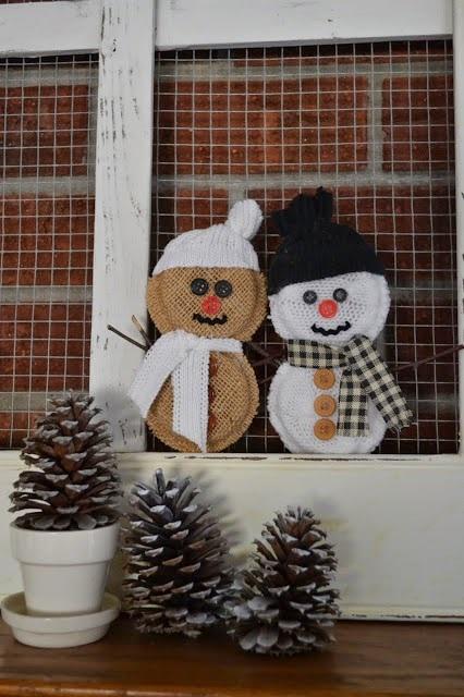 #2 Snowmen Ornaments