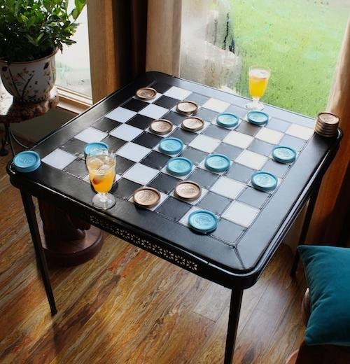 Upholstery basics folding table makeover