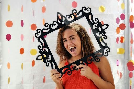 Circles of Fun Photobooth Backdrop