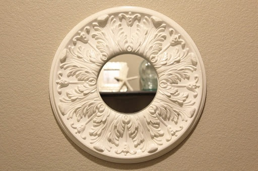 Ceiling Medallion Mirror