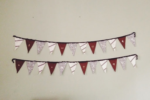 The Parker Project Bunting Advent Calender Tutorial