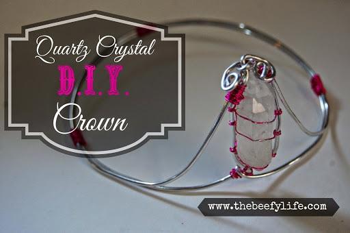 The Beefy Life > Crystal Crown DIY Tutorial