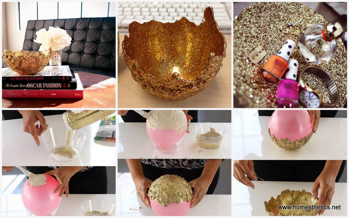 From Balloon to Shiny Beautiful Bowls In a Few Simple Steps Under $5