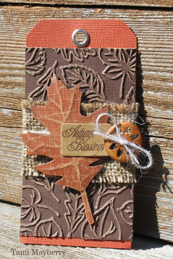 Autumn Blessings Tag Create It Simply with Tami Mayberry