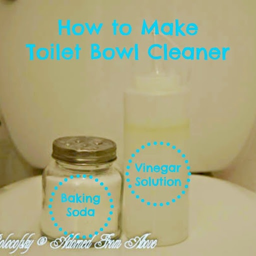 How To Make Natural Toilet Bowl Cleaner