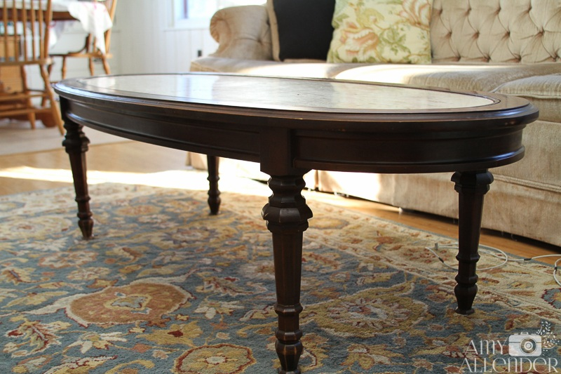Refinishing Antique Coffee Tables