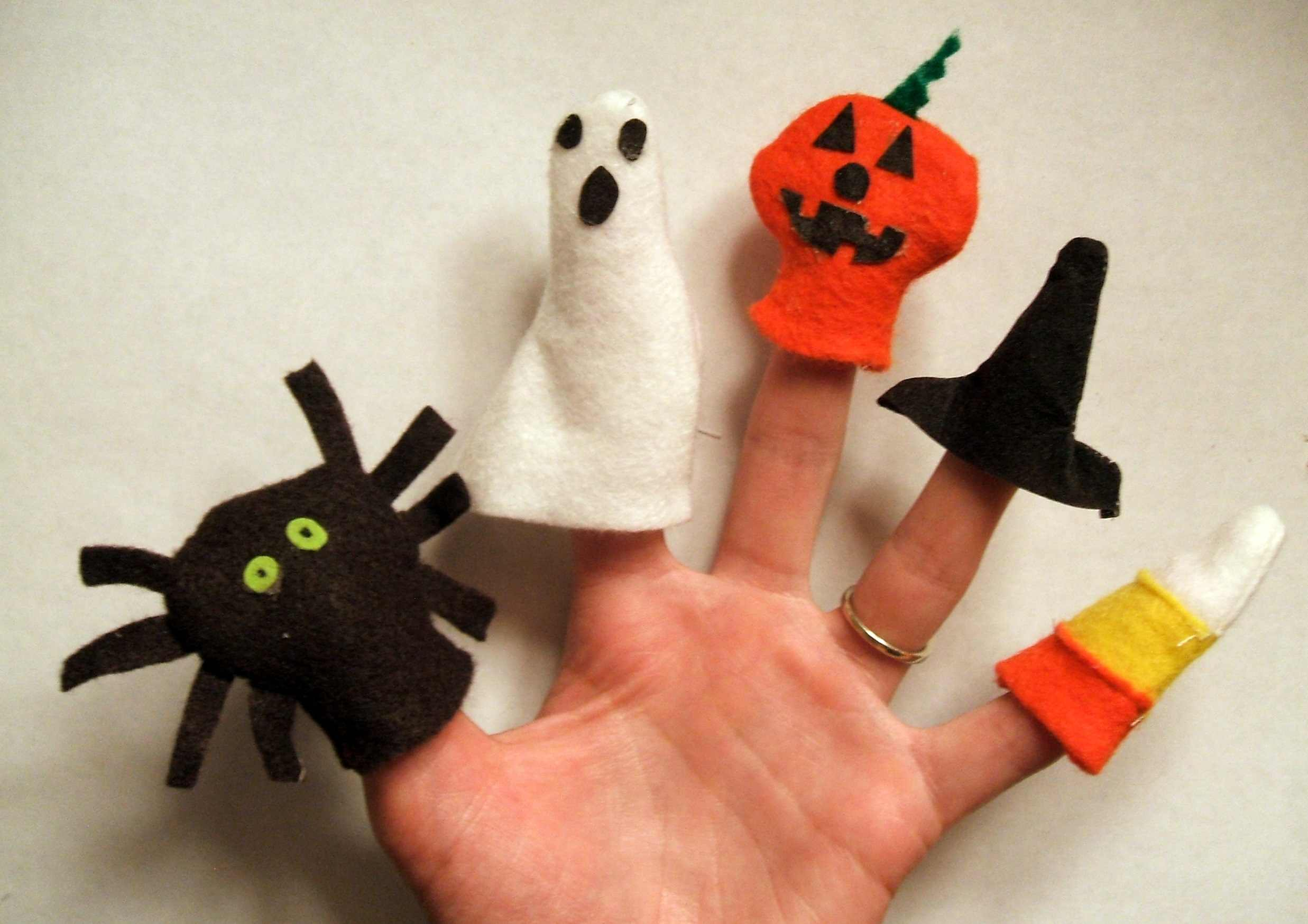 Halloween Finger Puppets Sew Something Special