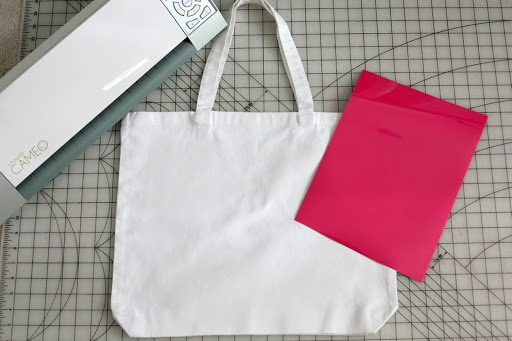 DIY text tote bag gym bag