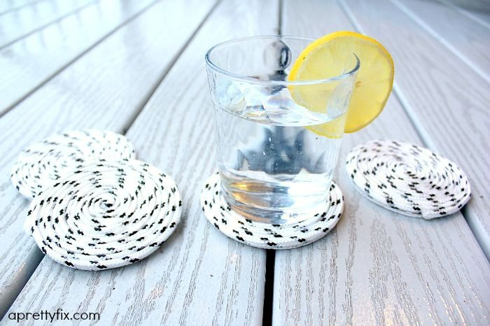 Easy Peasy DIY Rope Coasters