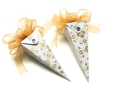 Sewing and Crafting with Sarah Party Favor Icicle Boxes