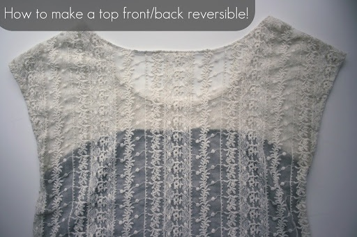 How to make a shirt reversible! Tutorial