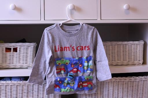 Little Man Car Shirt