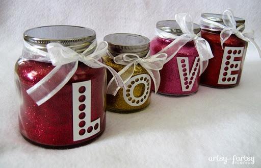 Valentine Love Jars