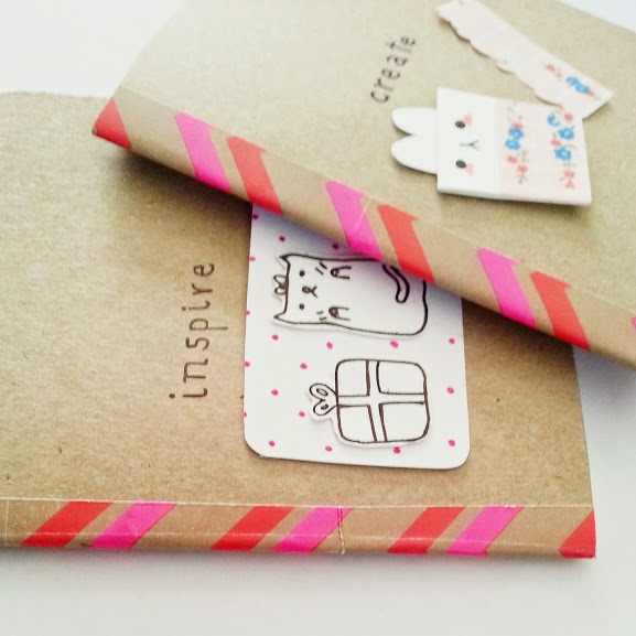 Diy moleskine notebooks