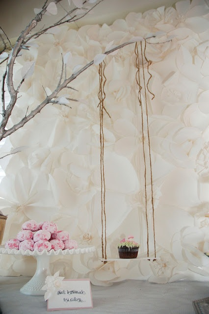 How to Make a Paper Flower Backdrop Let's Finish It!