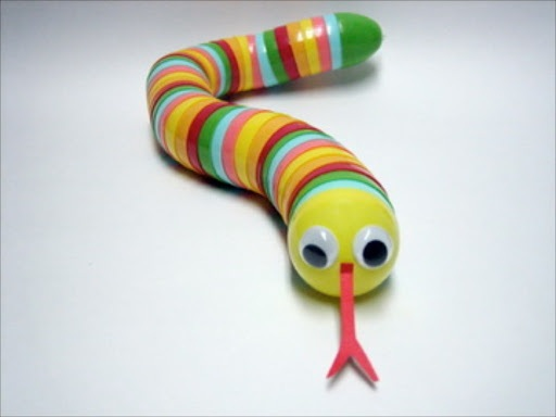 Sewing and Crafting with Sarah How to Make a Plastic Snake Kid's Toy