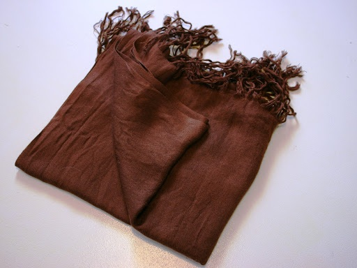 French seam infinity scarf tutorial recycle a scarf!