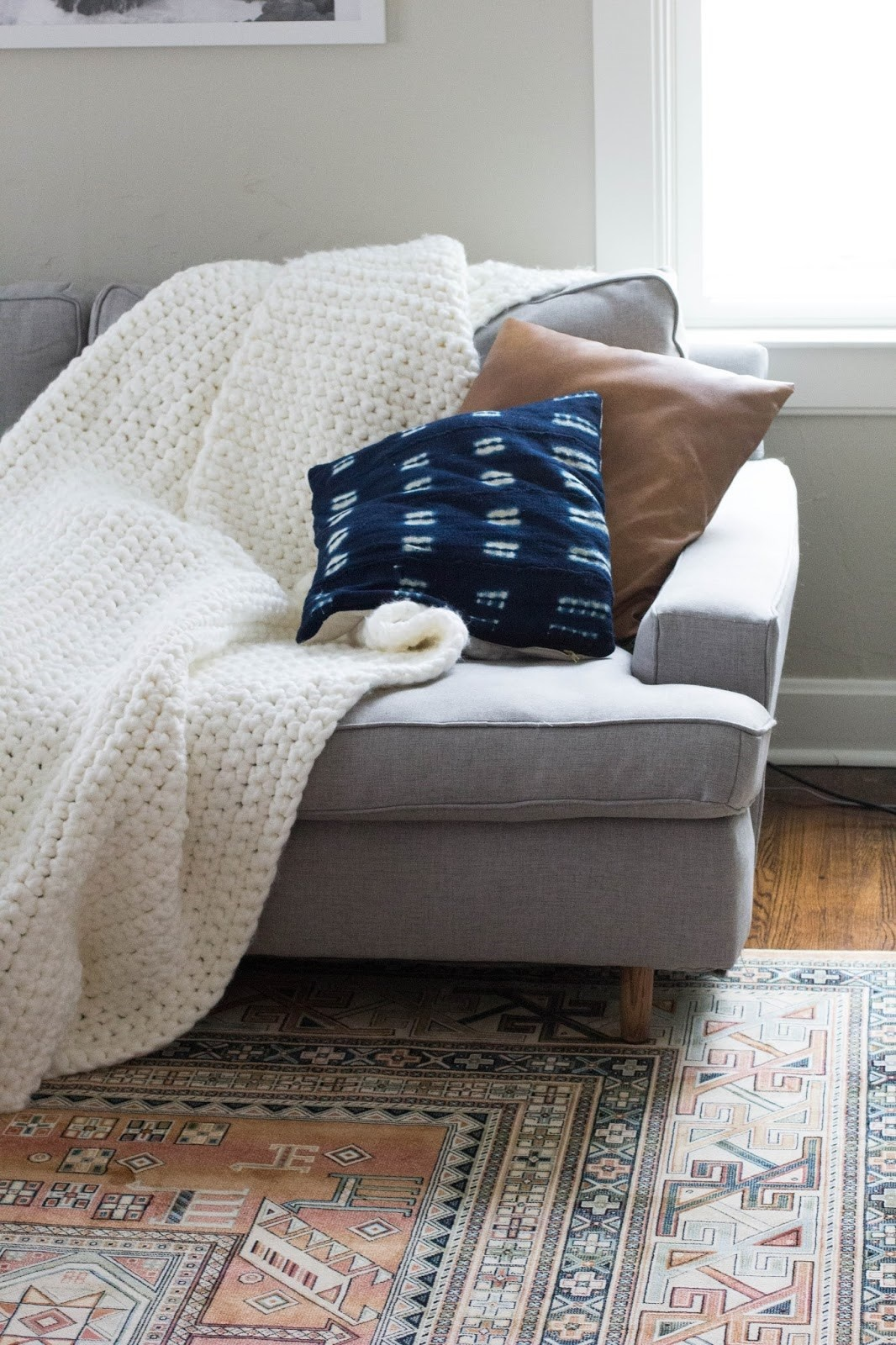 Learn To Crochet Chunky Blanket