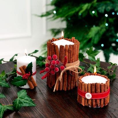 My Red Christmas Demo Cinnamon Candles