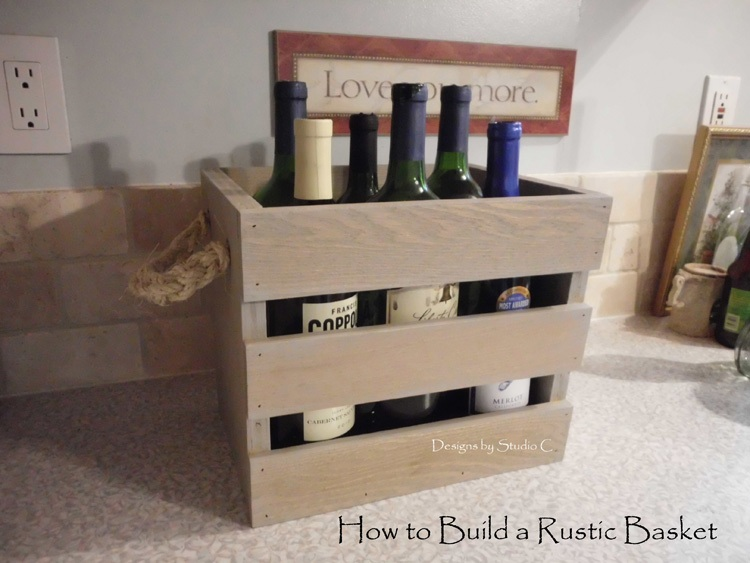How to Make a Rustic Gathering Basket