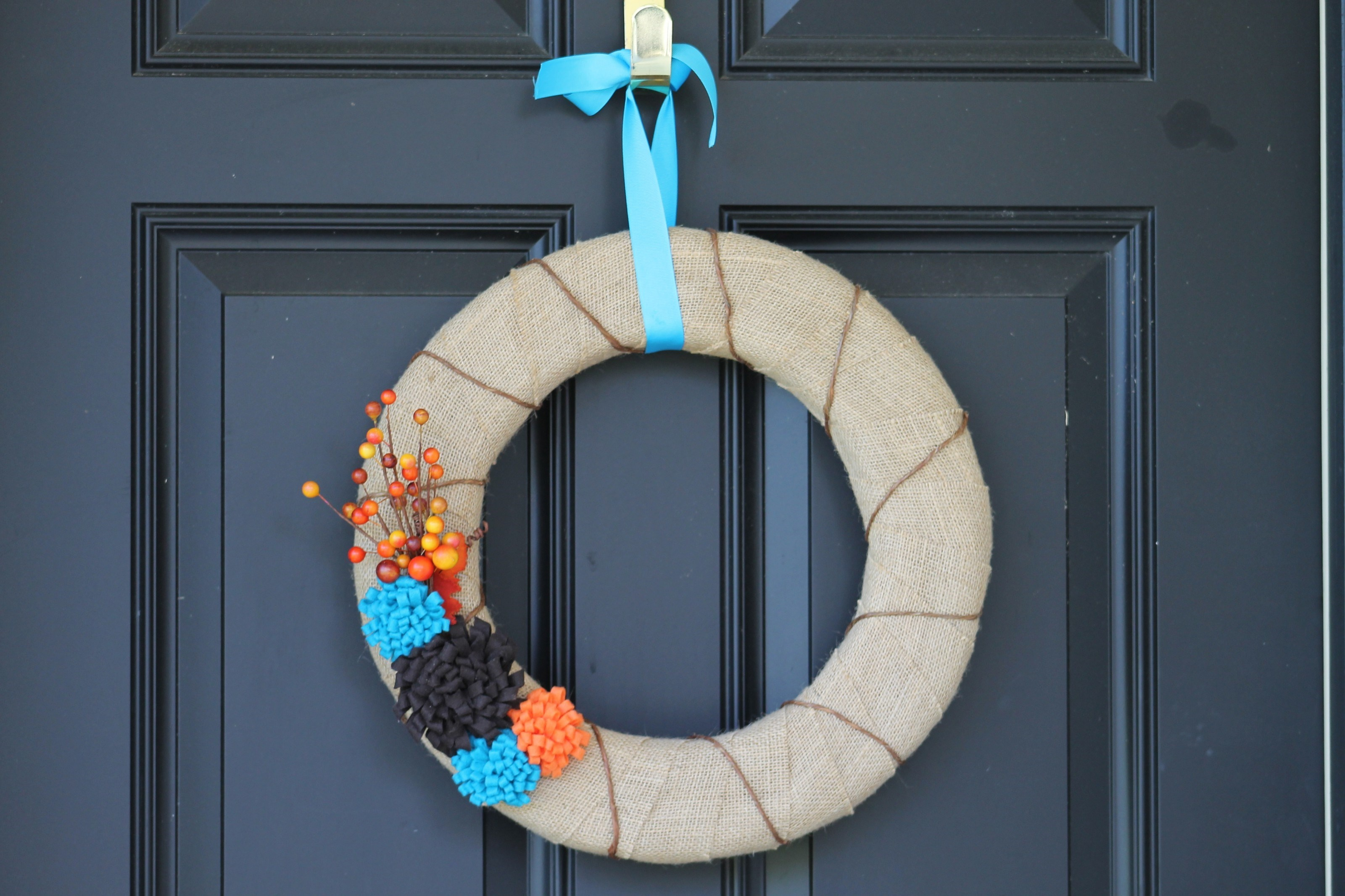 Fall Wreath Revisited