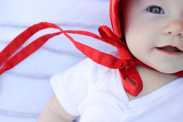 Red Sun Bonnet